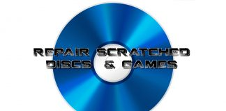 Repair Scratched Discs & Games