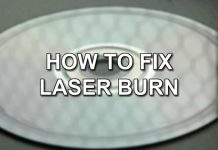 A Comprehensive guide detailing how to Fix Laser Burn on your Discs.