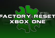 Factory Reset Your XBox One and Delete Game Saves Today.