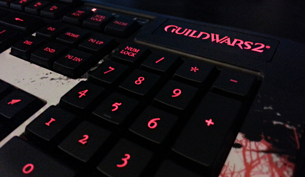 Guild wars 2 Keyboard