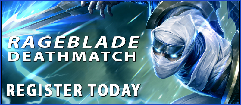Register for the RageBlade Tournament Today!
