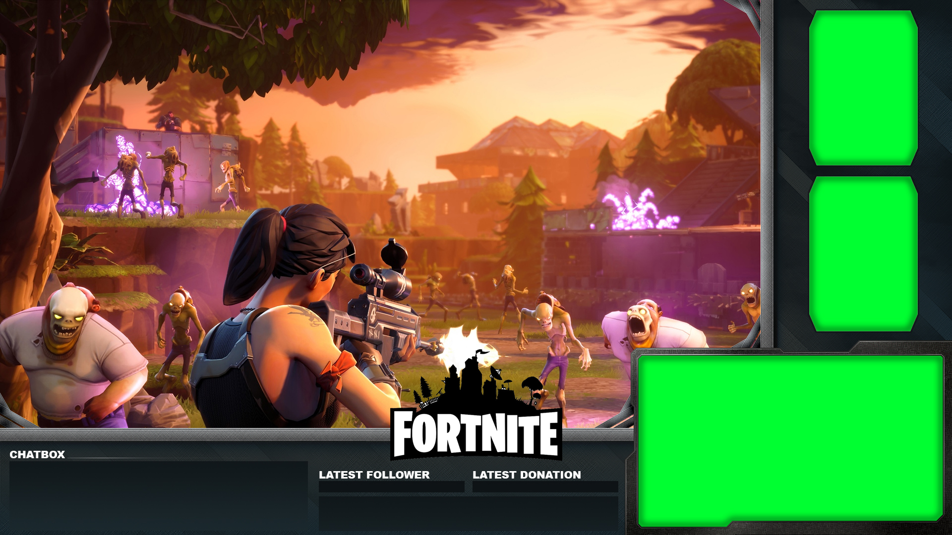 free fortnite overlay for streaming on youtube twitch and more