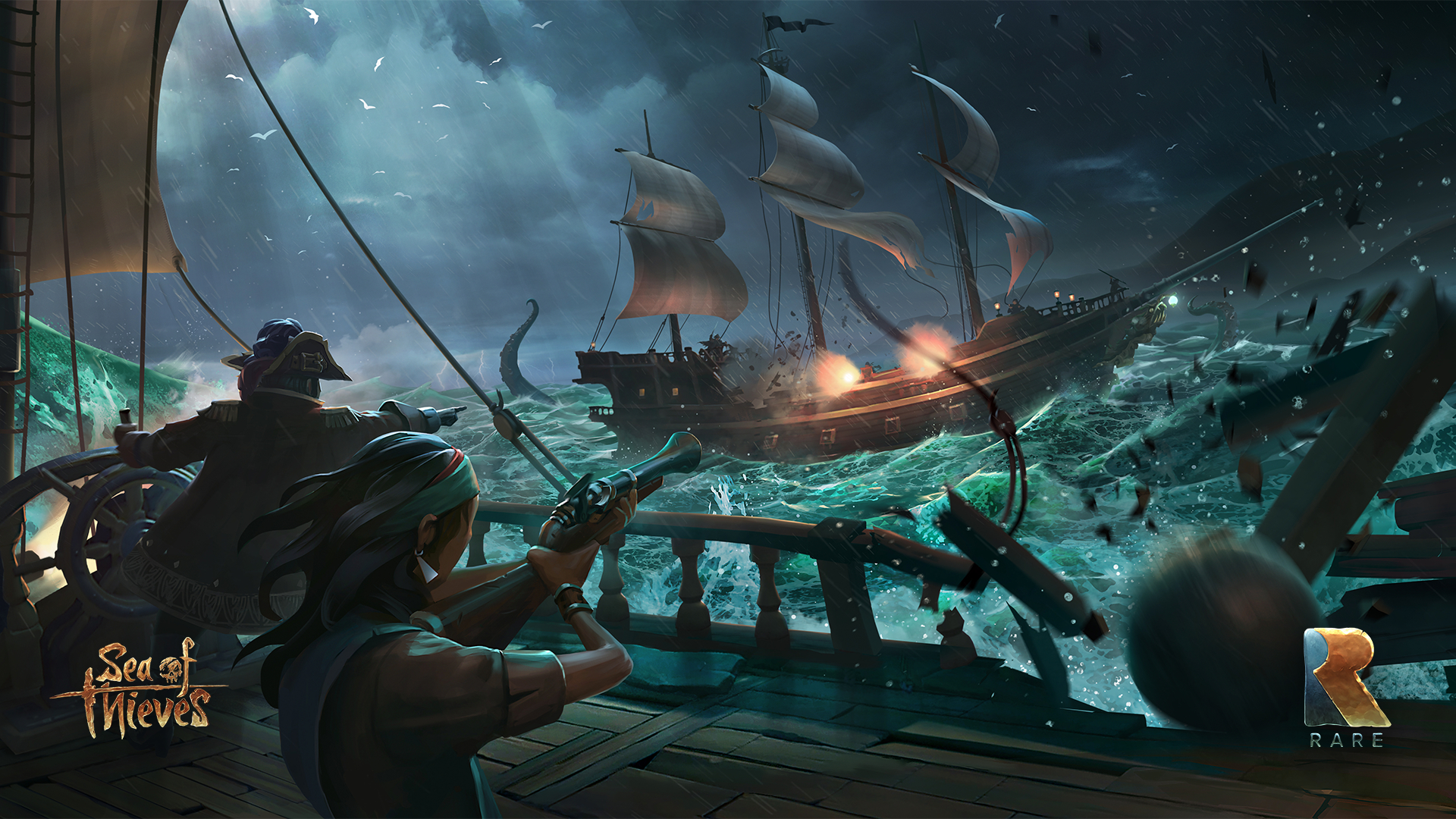 Get The Edge With This Sea Of Thieves Streaming Guide Chaos Hour