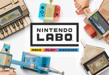 Nintendo Labo Freezing Fix