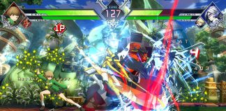 BlazBlu Cross Tag Battle High Ping