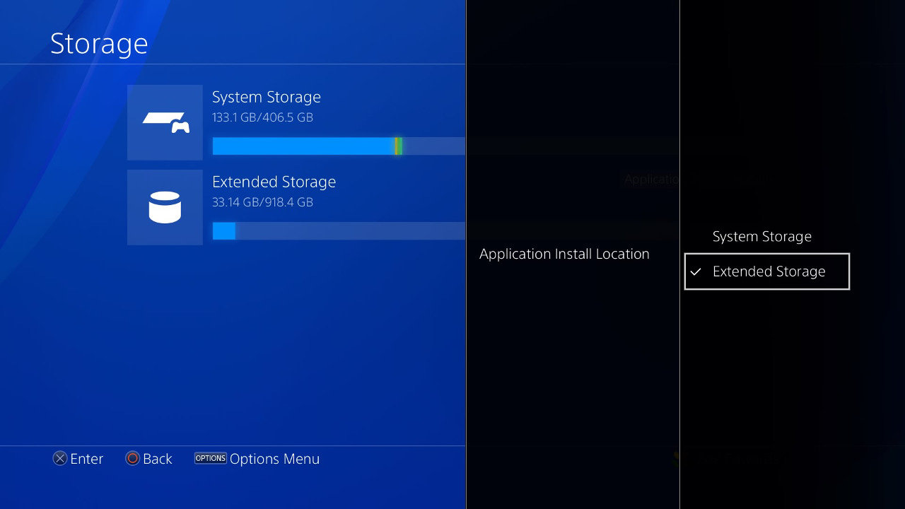 PlayStation 4 External Storage
