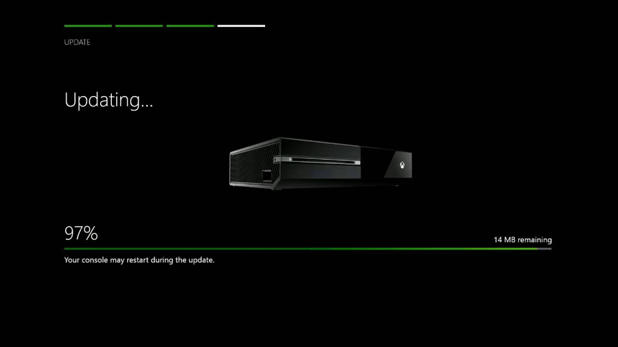 Update your XBox One Consoles Regularly.
