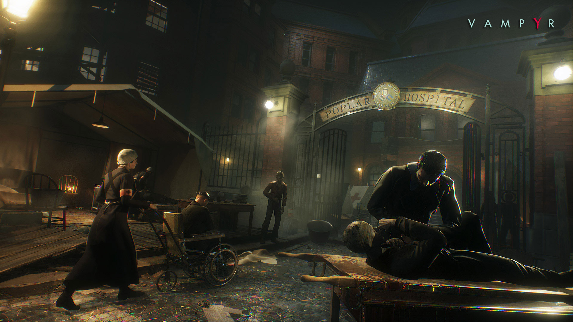 Vampyr Screenshots Look Incredible.