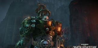 WarHammer 40,000 Inquisitor Freezing PS4