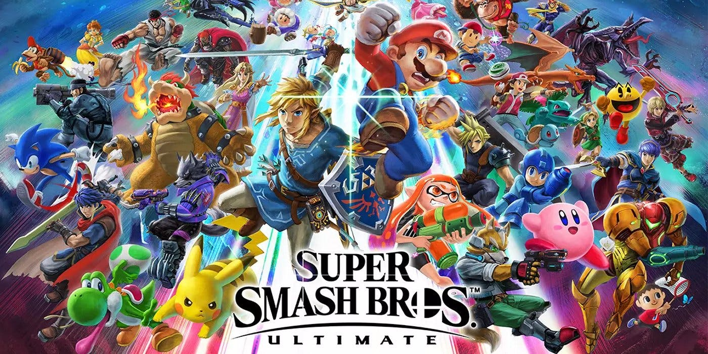 Play Smash Bros Ultimate on switch