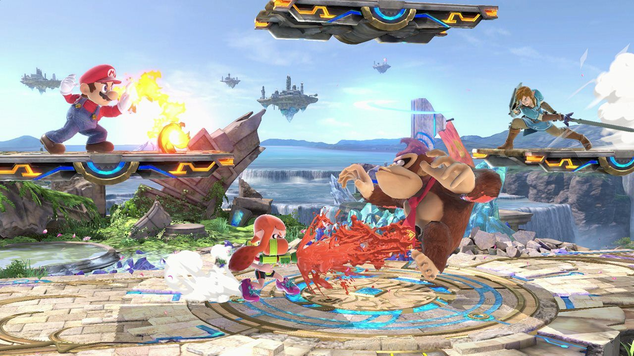 Smash Bros Ultimate will Release on the 7th December 2018